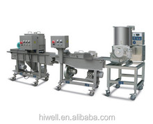 small scale hamburger maker food forming machine