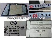 bus windshield suitable for kinglong bus parts glass window 261301640