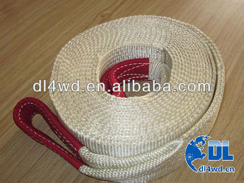 4x4 nylon snatch strap electric winch strap