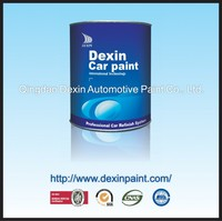 Waterproof acrylic spray paint for cars