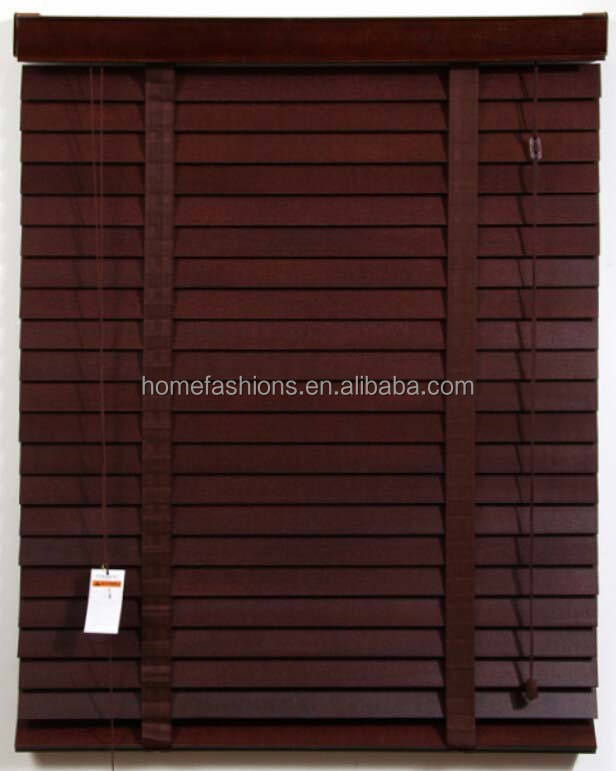 Design and make wood blinds for home office hotel villa