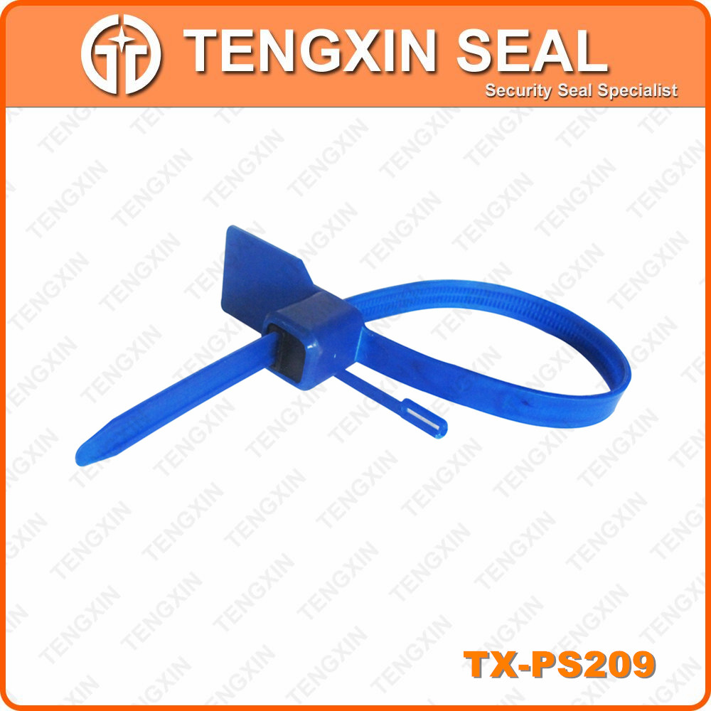 indicative seal plastic seal tag with serial number