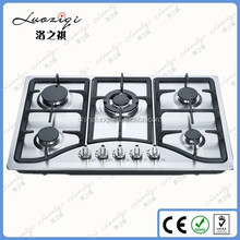 High performance smart indoor stainless steel surface kitchen gas stove size