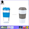 BSCI audit new style high quality double walled plastic cup