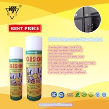 750ML waterproof aerosol cans GI200 Low Modulus Marine Polyurethane Foam Sealant