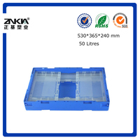 transparent color plastic Box made in China