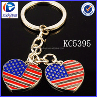 2014 renqing brand etched flag keychains alibaba in russian