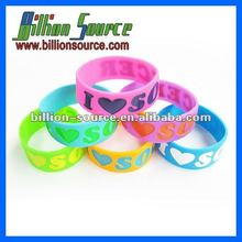 silicone rubber one direction bracelet wristband