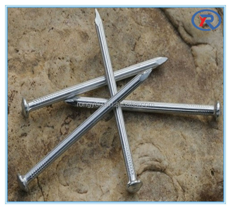 china low price stainless galvanized steel concrete nails with spiral shank