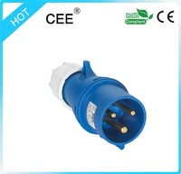 Gold supplier CEE -013n 2015 Newly developed TIBOX fireproof electrical plug socket and switch