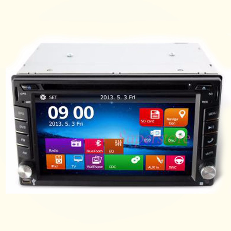 Wholesale cheap price 2din auto car DVD player for car audio with GPS