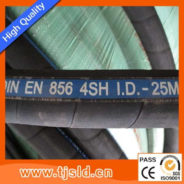 DIN EN 856 4SH hydraulic hose pipe manufacturer in China