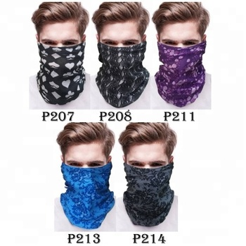 KaPin fashion headscarf seamless tube neck scarf nice bandanas cheap sports headbands for wholesale