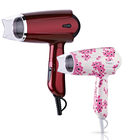 Electric Hair Blow Drier And Mini Foldable Hair Dryer With Cold Air Hot Air