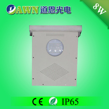 8W hot sale high quality integrated all in one solar led garden light New LED Solar garden