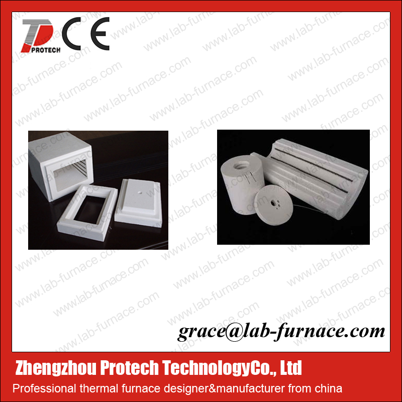 Furnace use Ceramic Fiber Heating Chamber with Electric power