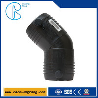 PN16 Plastic 45 degree EF elbow Fittings