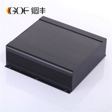 250*73.5-d mm(w*h-d)High Quality wire Drawing Black color heat sink metal extrusion aluminum junction boxes