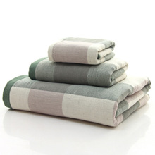 Wholesale custom 3 ply gauze Turkey cotton bath towels sale uk