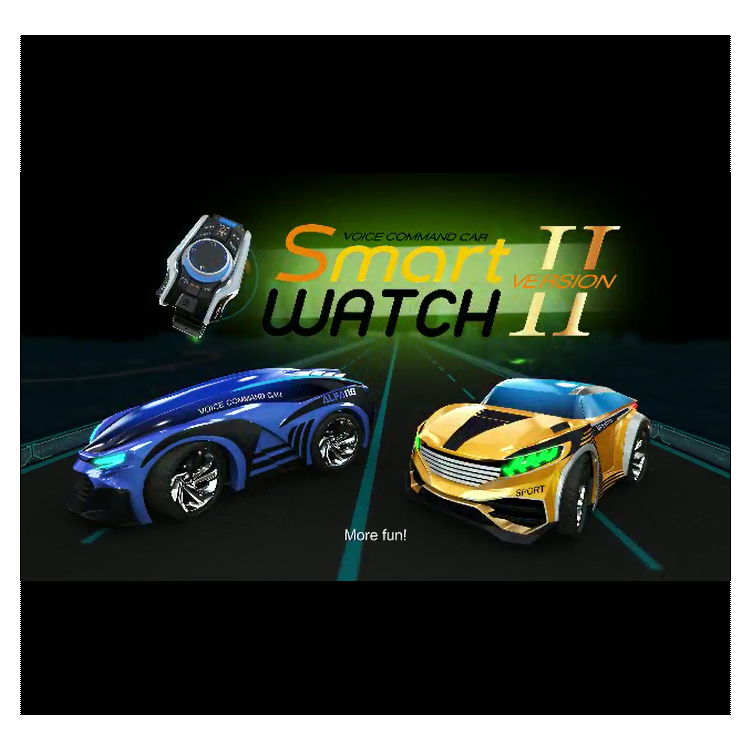 2.4G Smart Watch Voice Command Car RC Record Customized mode VERSION 2 toys for kids car