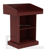 Modern Commercial Furniture Wooden Lecterns Church Podiums Pulpits Designs for Churches