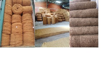 COIR NET/COIR ROPE/COIR MAT - PRODUCTS FROM COCONUT FIBER