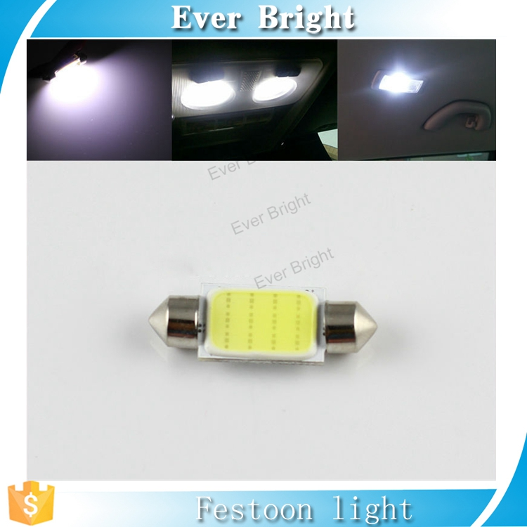 High Power led Festoon COB 31MM / 36MM /39MM / 41MM 12SMD 12 led Car LED Bulbs Interior Dome Festoon Lights
