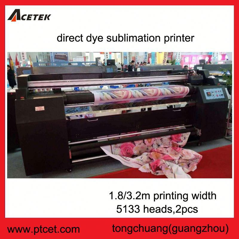 High quality fast speed usde 5113 printhead 1.8m wide format sublimation printer
