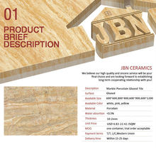 JBN on promotion marble look tile Foshan marble granite tiles
