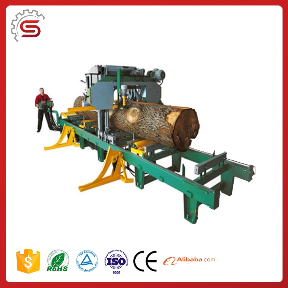 Woodworking Bander Horizontal Band Sawing Machine (Electric Engine) MJ1000H for furniture making