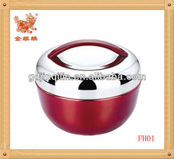 high quality double wall stainless steel hot pot lunch box from China factory
