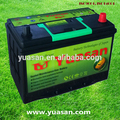 Best 12V80AH Yuasan Factory Calcium Maintenance Free 95D31L MF Auto Battery --(NX120-7LMF)