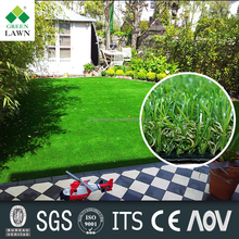 PU backing Outdoor natural carpet artificial grass /lawn /turf carpet for landscaping garden balcony