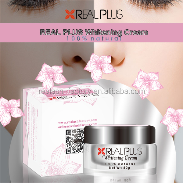 REAL PLUS 100% natural no irritation romantic beauty cosmetics whitening skin