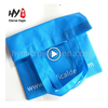 Factory supply cheap portable non woven shopping tote bags