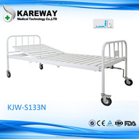Economy Single crank hospital bed Safe home care nursing bed