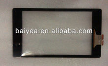 OEM New For Asus Google Nexus 7 FHD Version 2 2nd generation digitizer touch screen front panel parts