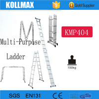 Lightweight Step Super Aluminum Folding Retractable Collapsible Ladder