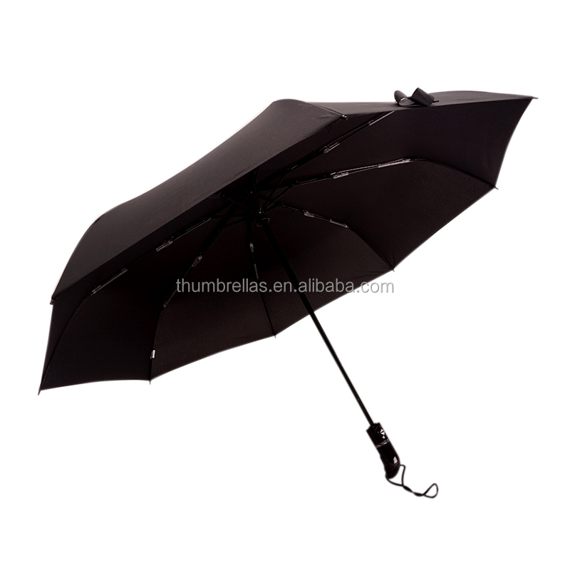 Hot Sale High Level Teflon Coating Standard Size Auto Open Close Travel Umbrella