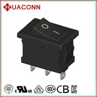 HS8-F8-5-03H300-BB03 quality most popular momentary rocker switch on off on china