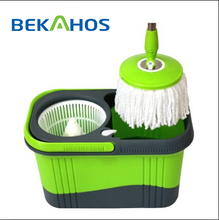 2017 Mini Series Small Mop Bucket with Wringer with Two Round Mop Heads