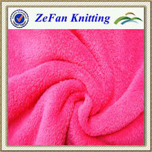 2013 New style polyester solid coral fleece fabrics supplier
