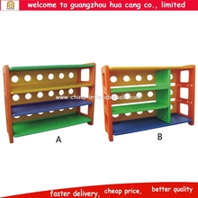 Plastic functional kids book shelf for room library school