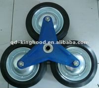 stair climbing solid wheel,sack truck wheel