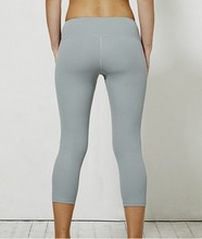Tight and fitness 3/4 length designed for yoga, gym, sport sexy girls cheap leggings