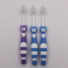 OEM Soft Bristles Raccoon Shape Kid Toothbrush
