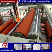 PVC laminated drywall ceiling tiles production line/pvc laminated gypsum board equipment