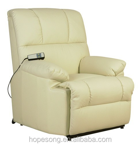 Living Room Sofa Vibrator Electric Lift Chair Leather Recliner
