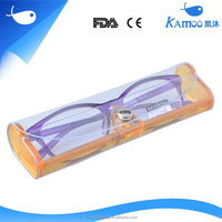 Custom transparent plastic reading glasses case,Candy Colorful glasses case