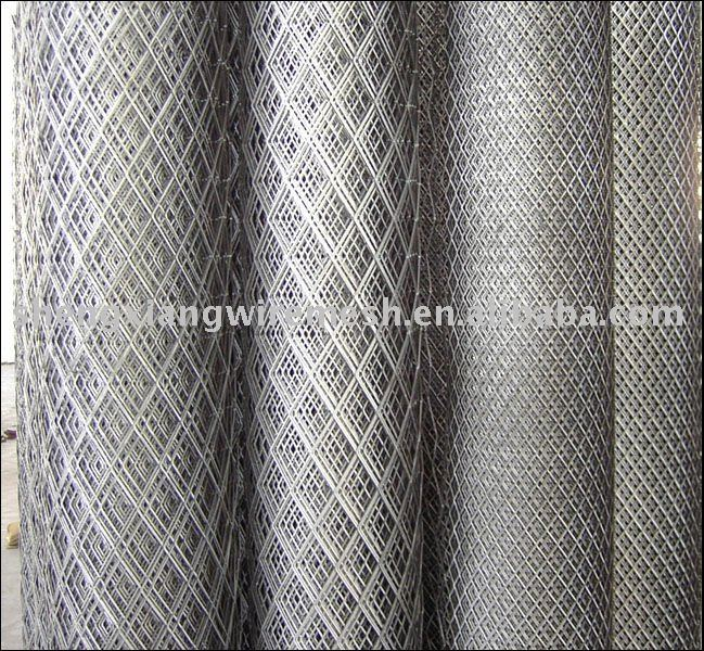 2*4mm Galvanized expanded metal mesh